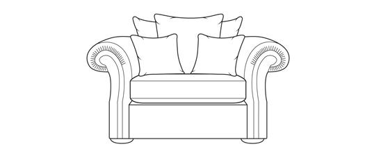Manhattan 1.5 Seater